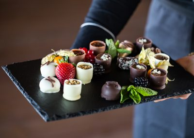 Pralinky z belgickej čokolády.