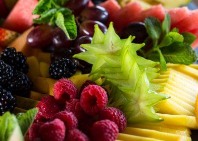 Filetované ovocie.